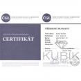 certifikát pravosti briliantu