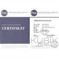 certifikát brilianty